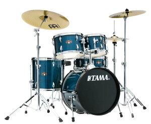 "TAMA 《タマ》 IE58H6HC-HLB [2019 IMPERIALSTAR:18""バスドラムキット / Hairline Blue]【新製品】【教則DVD&ホールカット・リング:プレゼント】【お取り寄せ品】"