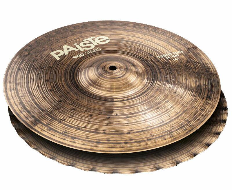 ドラム, ハイハット PAiSTe900 Series 900 Series Sound Edge HiHat 14 pr NAMM2017