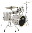 CANOPUS《カノウプス》 BRO'S DRUM KIT [ SK-16:4pc Kit (16BD/13FT/10TT/13SD)][Platinum Quartz]・・・