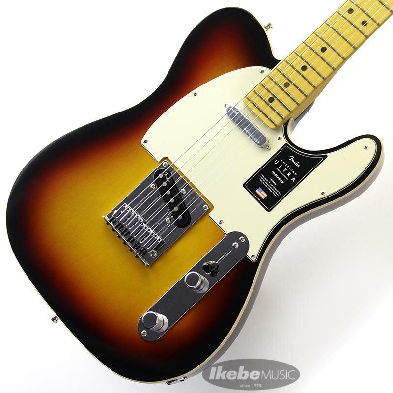 ギター, エレキギター Fender American Ultra Telecaster (UltraburstMaple)