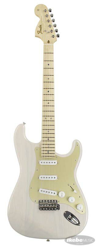ギター, エレキギター Fender IKEBE FSR 1966 Stratocaster Reverse Head (US Blonde) Made in Japangp5