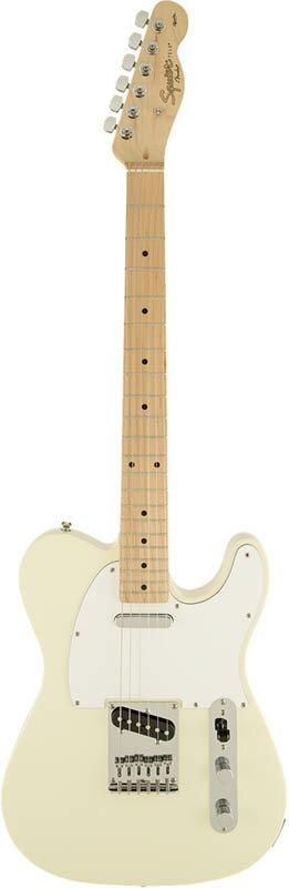 ギター, エレキギター Squier by Fender by Affinity Series Telecaster (Arctic WhiteMaple Fingerboard)gp5