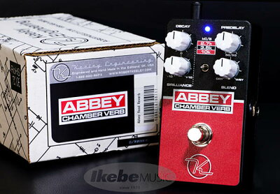 Keeley Electronics Abbey Chamber Verb 伝説のアビーロードスタジオのリバーブを再現