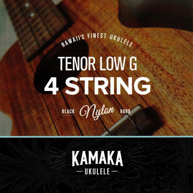 ウクレレ用アクセサリー・パーツ, 弦 Kamaka S-3G Tenor Black Nylon Low-G