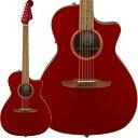 Fender Acoustics 《フェンダー・アコースティック》 Newporter Classic (Hot Rod Red Metallic)【a_p5】