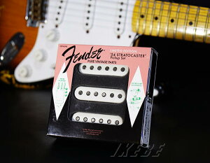 世界限定1954個!Fender USA 《フェンダーUSA》 60th Anniversary 1954 Stratocaster Pickups