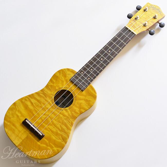 ウクレレ, ソプラノウクレレ Pupukea IUF-30-Quilt MapleAM01