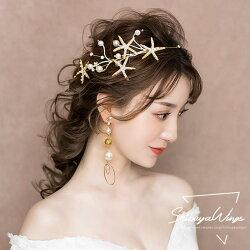 ウエディングティアラヘッドドレス髪飾りパールカチューシャ花嫁ウェディング結婚式ブライダルパーティー二次会イヤリングセットキラキラ