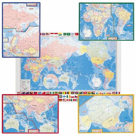 七田式『世界地図パズル(No.111-032)』