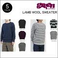 GREEN_CLOTHING_ラムウールセーター