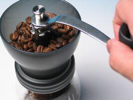 手挽きコーヒーミル・スターターキット(ハリオ・セラミック・コーヒーミル・スケルトンMSCS-2TB)【10P27July09】