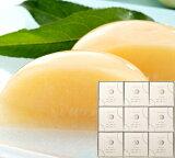 清水白桃半割り果実ゼリー(9個入)木箱入