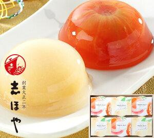 完熟トマトと白桃の紅白ゼリー詰合せ (6個入) お祝 内祝 お返し お取り寄せ ギフト