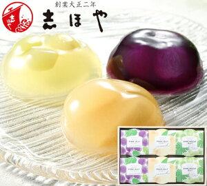 岡山3大果実(清水白桃・マスカット・ピオーネ)ゼリー (6個入) お祝 内祝 お返し お取り寄せ ギフト