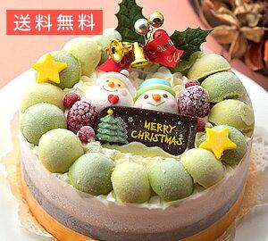 クリスマスデコレーションアイスケーキ【お歳暮ギフト】1台(15cm)
