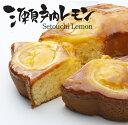 香川県産オーガニックレモンの爽やかな香りと酸味★しっとり仕立てのレモンケーキ瀬戸内レモン