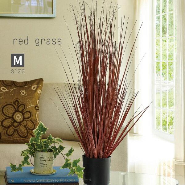 観葉植物 光触媒 レッドグラス【M】 高さ約107cm #1791F カントリー モダン ナチュラル 人工 造花 室内 フェイクグリーン おしゃれ 新築 お祝い