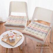 インド綿シートクッションハシーナ約40×40cm綿100%コットン100%座布団四角型かわいいシンプルおしゃれカラフルオールシーズン