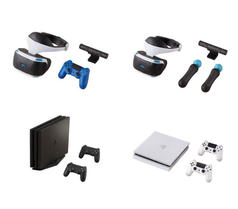 コレクション, ガチャガチャ  PlayStation 4 PlayStation VR 4