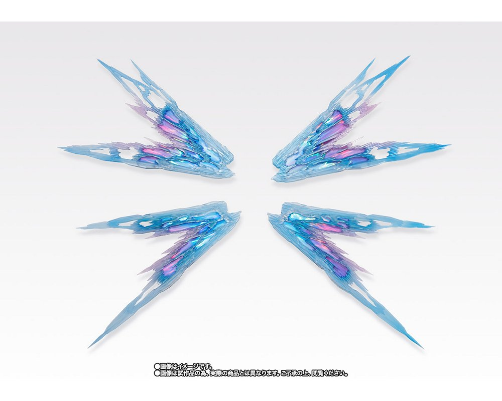 METAL BUILD ストライクフリーダムガンダム 光の翼オプションセット SOUL BLUE Ver.画像