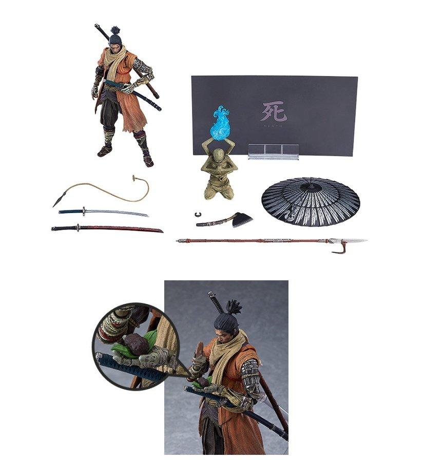 コレクション, フィギュア figma SEKIRO: SHADOWS DIE TWICE DX