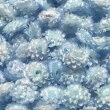 (4輪入り)イモーテルWレジン封入資材花プリザーブドフラワードライフラワー水色青ライトブルー