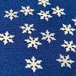 クリスタルのホログラムS/ホワイト/ネイル/レジン/封入/雪の結晶/スノーフレーク/冬モチーフ
