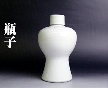 【瓶子 平子 白 3.5寸 】 神棚 神具 信徒 陶器 法要 法亊 お祭り