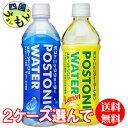【選べる2ケース送料無料】 サンガリア ポストニックウォーター・レモン 500mlペット×24 2ケース