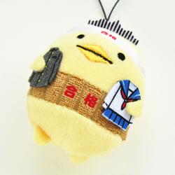 豊島商店オリジナル 合格バリィさんストラップ