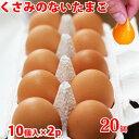 高級卵 臭みのないたまご 20個 (10個×2パック) Lサ