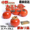 中野さんちの 大玉 とまと 訳あり 桃太郎 りんか の2種類混ぜあわせ 大きいトマトです 約4kg 16個か20個入り