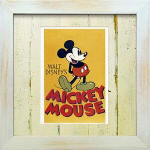 VintageDisneySeriesヴィンテージディズニーMICKEYMOUSEミッキーマウスD001アートフレーム