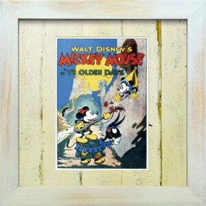 VintageDisneySeriesヴィンテージディズニーYEOLDENDAYSMICKEYMOUSE&MINNIEMOUSEミッキーマウス&ミニーマウスD003アートフレーム