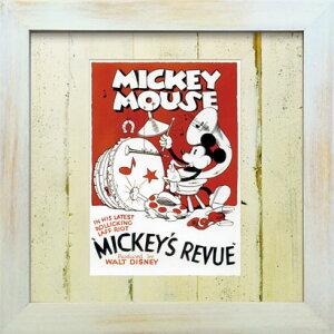VintageDisneySeriesヴィンテージディズニーMICKEY`SREVUEMICKEYMOUSEミッキーマウスD004アートフレーム