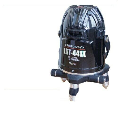 【すぐに使える最大4000OFFクーポン配布中】【LTC】テクノ販売 電子整準フルライン高輝度レーザー墨出し器 LST-441X(縦4方向矩・横全周水平ライン・地墨・鉛直十字):島道具