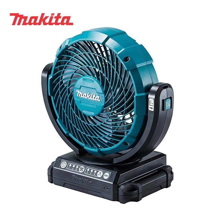 マキタ CF102DZ 充電式ファン(業務用扇風機) 14.4V/18V兼用 (ACアダプタ付属・本体のみ)(snow peak社フィールドファン MKT-102同等品) ◆