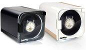 【新商品予約販売】JelphyワインディングマシーンLED搭載12パターンの回転モードマブチモーター自動巻き時計1本巻KA101送料無料