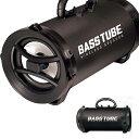 BASS TUBE ワイヤレススピーカー バスレフ式 サウンドハイパワー仕様 Bluetooth 簡単接続 持ち運び HAC2-0279 送料無料