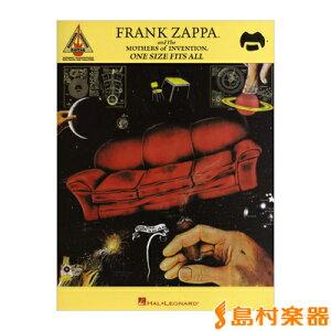 楽譜 輸入 FRANK ZAPPA / Mothers of Invention / ONE SIZE FITS ALL / シンコーミュージックエンタテイメント