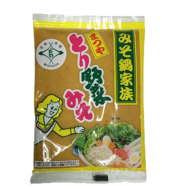 まつや『とり野菜みそ200g3袋セット(レギュラー2&ピリ辛1)』