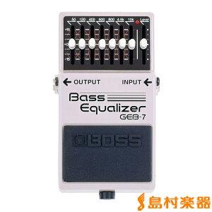 【送料無料】BOSS イコライザー ベース用 GEB-7 ボス GEB7BOSS イコライザー ベース用 GEB-7 ボ...