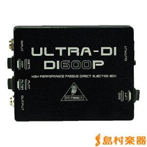 ベリンガー ダイレクトボックス ULTRA-DI DI600P BEHRINGERベリンガー ダイレクトボックス ULTR...