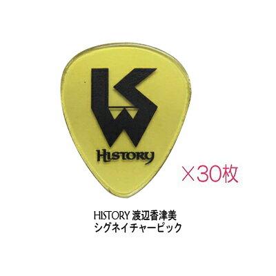 HISTORY / ヒストリー 渡辺香津美 シグネチャーピック(厚さ1.0mm) 30枚セット 【新品】【smtb-...