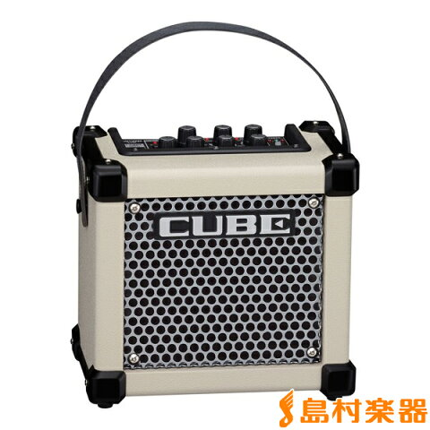 Roland MICRO CUBE GX WHT 3W ギターアンプ 【エフェクター内蔵】【電池駆動】 【ローランド】