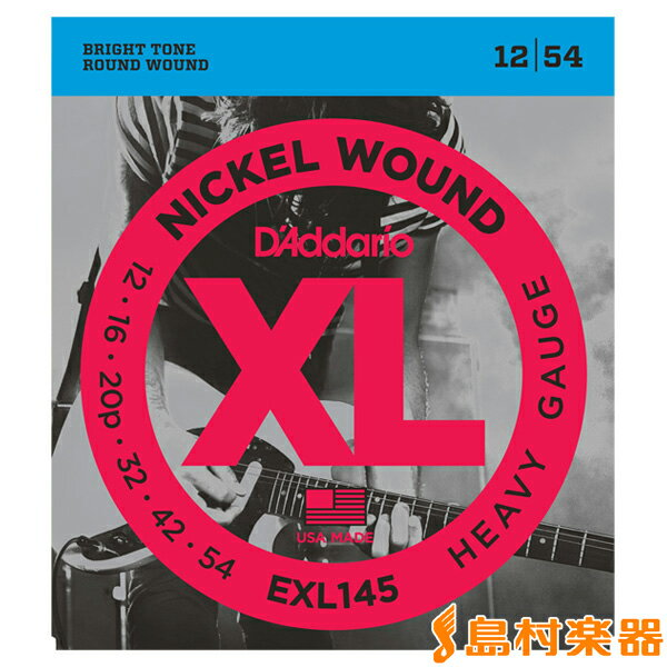 ギター用アクセサリー・パーツ, エレキギター弦 DAddario EXL145 Heavy