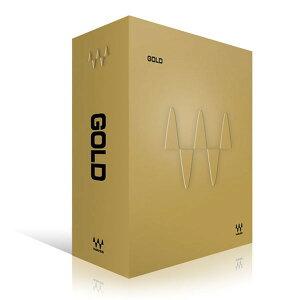 【3/26までポイント3倍】WAVES プラグインソフト エフェクト 【数量限定】 Gold Native ウェー...