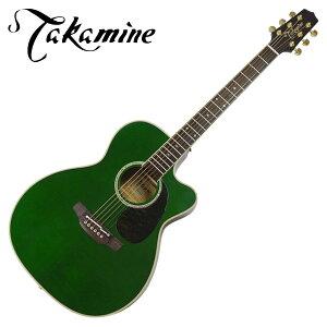 タカミネ エレアコギター 【島村楽器限定】 PTU75S TG トランスルーセントグリーン Takamine