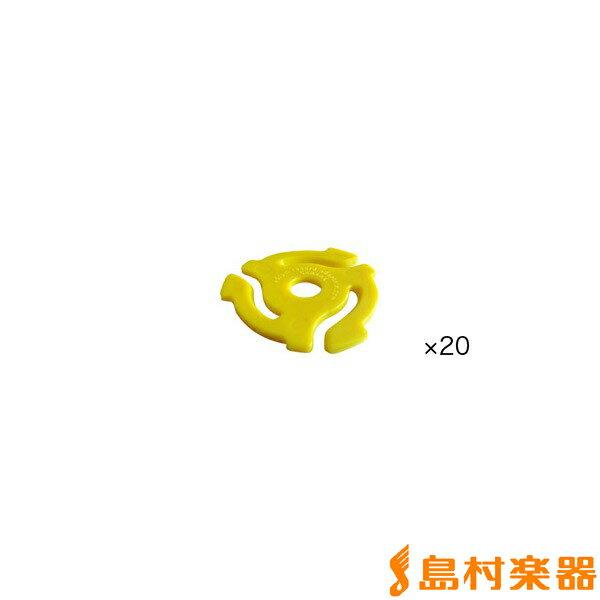 DJ機器, その他 stokyo 7 20 Plastic 45RPM Insert Adapter ( P45IN ) Yellow