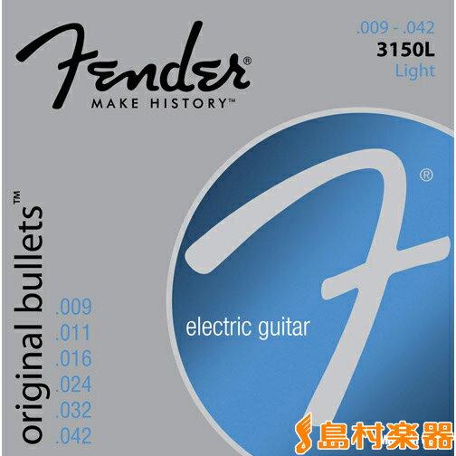 ギター用アクセサリー・パーツ, エレキギター弦 Fender 3150L ORIGINAL BULLETS 009-042 073-3150-403
